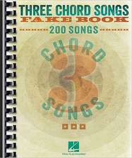 Three Chord Songs Fake Book