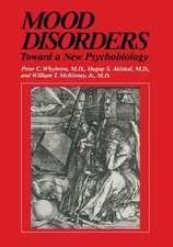 Mood Disorders: Toward a New Psychobiology