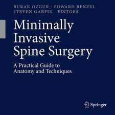 Minimally Invasive Spine Surgery: A Practical Guide to Anatomy and Techniques