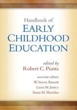 Handbook of Early Childhood Education