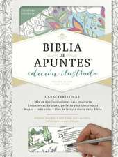 Rvr 1960 Biblia de Apuntes, Edicion Ilustrada, Blanco En Tela Para Colorear