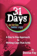 31 Days to Write Better Copy