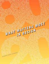 80/20-What Matters Most in Design