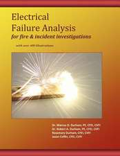 Electrical Failure Analysis for Fire and Incident Investigations