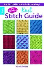 Knit Stitch Guide