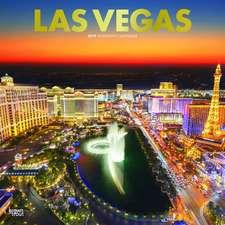 LAS Vegas 2019 Square Wall Calendar