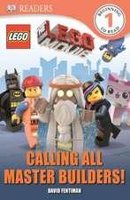 DK Readers L1:  Calling All Master Builders!