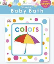Squeaky Baby Bath:  Colors
