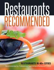 Restaurants Recommended