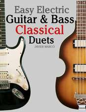 Easy Electric Guitar & Bass Classical Duets