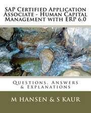 SAP Certified Application Associate - Human Capital Management with Erp 6.0