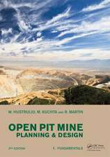 Open Pit Mine Planning and Design, Two Volume Set & CD-ROM Pack, Third Edition:  An Effective Method for Achieving Desired Results