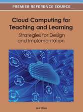 Cloud Computing for Teaching and Learning