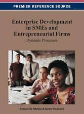 Enterprise Development in Smes and Entrepreneurial Firms