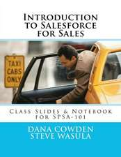 Introduction to Salesforce for Sales