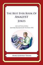 The Best Ever Book of Analyst Jokes