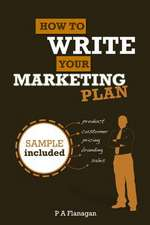 How to Write Your Marketing Plan