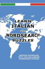 Learn Italian with Wordsearch Puzzles:  A Spoken Word Poem