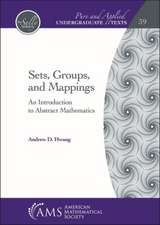 Sets, Groups, and Mappings
