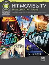 Hit Movie & TV Instrumental Solos: Songs and Themes from the Latest Movies and Television Shows (Trumpet), Book & CD