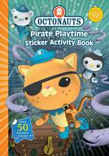 Octonauts Pirate Playtime Sticker Activity book