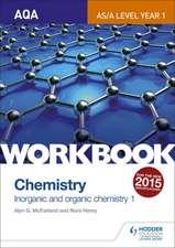 McFarland, A: AQA A-Level/as Chemistry Workbook: Inorganic a