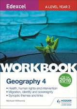 Edexcel A Level Geography: Health, Human Rights and Intervention; Migration, Identity and Sovereignty; Synoptic Themes