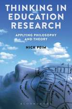 Thinking in Education Research: Applying Philosophy and Theory