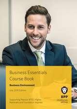Business Essentials Business Environment