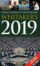 Whitaker's 2019