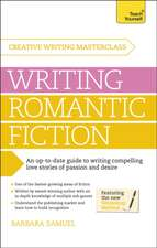 Masterclass:  Writing Romantic Fiction