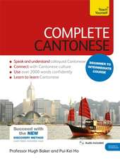 Complete Cantonese Beginner to Intermediate Course