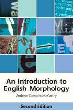 An Introduction to English Morphology