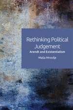 Rethinking Political Judgement