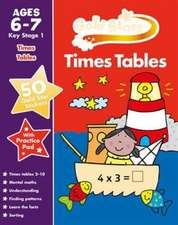 Gold Stars Practice Book Times Tables