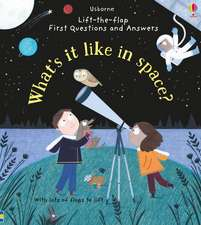 What is it like in space?: Pop up book