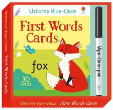Brooks, F: Wipe-Clean First Words Cards