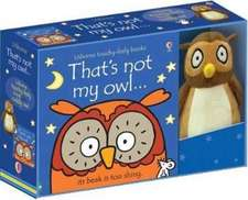 Watt, F: That's Not My Owl Book and Toy