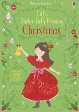 Little Sticker Dolly Dressing: Christmas