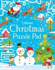 Christmas Puzzles Pad