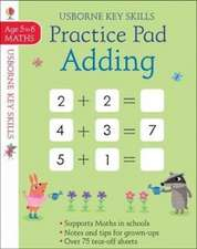 Adding and Subtracting Practice Pad