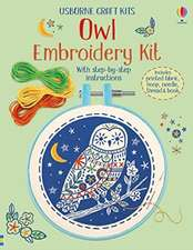 EMBROIDERY KIT OWL