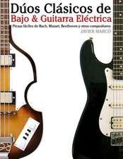 Duos Clasicos de Bajo & Guitarra Electrica