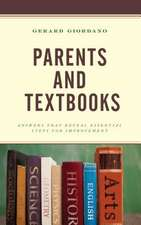 Parents and Textbooks