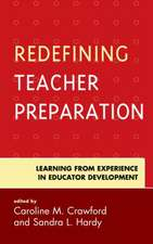 REDEFINING TEACHER PREPARATIONCB