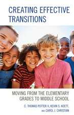 CREATING EFFECTIVE TRANSITIONSCB