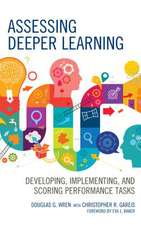 ASSESSING DEEPER LEARNINGDEVECB