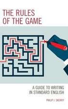 RULES OF THE GAMETEACHING STUPB