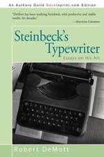 Steinbeck's Typewriter