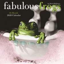 Fabulous Frogs - Fabelhafte Frösche 2020 - 16-Monatskalender